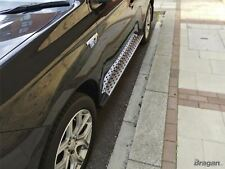 To Fit 2012+ Mitsubishi Outlander MK3 Aluminium ABS Side Steps Running Boards