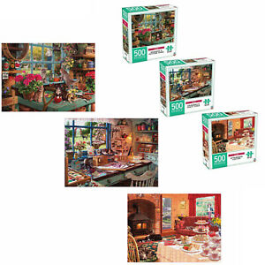 500 Piece Home Puzzle Set - Assorted Kids Toys Activity Games Gift Home Decor AU