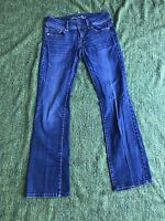 American Eagle Woman Jeans Pants Stretch Original Boot Cut Jeans Sz 4 L30