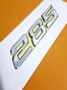 285 KW Chrome Badge HSV VY MALOO CLUBSPORT GTS SENATOR Mods.