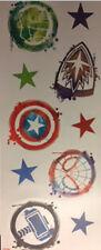MARVEL ICON wall sticker 10 decals Captain America Hulk Spiderman Thor superhero