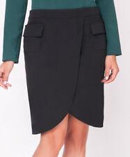 Black Skirt Size 16 Wrap Design