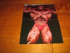 bodybuilder Mr Olympia Lee Haney Bodybuilding MuscleColor Poster