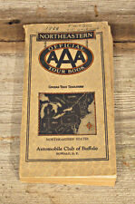 Rare 1929 Automobile Club of Buffalo, N.Y Northeastern Official Tour Book