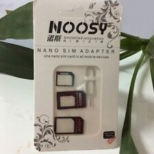 Noosy Nano SIM Card to Micro Standard card Adapter iPhone5/4S/4 other phone EW2
