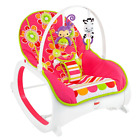 Infant To Toddler Rocker - Soothing Baby Seat with Removable Bar,Floral Confetti