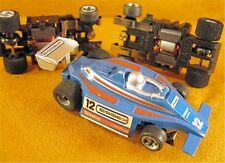 1970s Foreign HO Blue ESSEX F1 Indy Slot Car NOS OEM