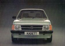 Opel Kadett D 1981-82 UK Market Sales Brochure 1.3 1.6 Berlina SR