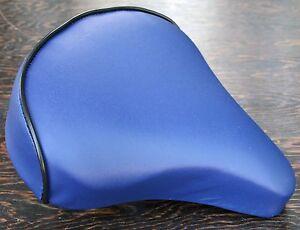 Blue Cool Comfort Bicycle Saddle    Vintage Schwinn Tank Bike Beach Cruiser Seat