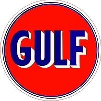 Vintage Gulf Gas Oil Decal -The Best Or Your Money Back