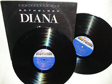 Diana Ross Antholog 1983 Double LP Records Album