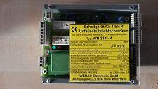 Kardex Lichtschranken-Steuergerät T88 WERAC WN 314-4 Kardex-Id.-Nr. 086567.5