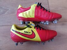 NIKE CTR360 LIBRETTO III PRO SG Football Ruby Soccer Boots 6.5 Red KANGALITE