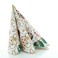 Serviette Belinda aus Linclass® Airlaid 40 x 40 cm, 50 Stück Weihnachten Fest