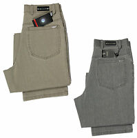 Brenzi Men's Jeans Regular Fit Straight Leg Denim Trousers Pants Waist 28-40
