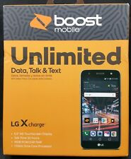 """*NEW* LG X Charge 5.5"""" 16GB Android Prepaid Smartphone Boost Mobile SP320"""