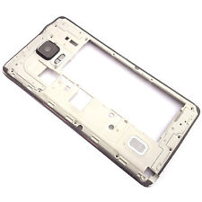 ORIGINALE Samsung Galaxy nota 4 N910 LATO POSTERIORE CHASSIS + fotocamera vetro + PULSANTI LATERALI