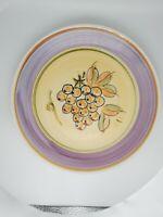 GIBSON DESIGNS Antique Vineyard Lavender Band Dinner Plate Retired Pattern