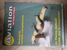 $$$ Revue Aviation International N°917 HeavyLiftAir France Swissair