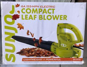 🌎 Sunjoe,Compact Leaf Blower,Open Box ‼️