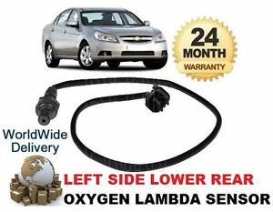 FOR CHEVROLET EPICA 2.0 3/2008--> LEFT SIDE LOWER REAR 02 OXYGEN LAMBDA SENSOR