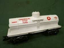 vintage Marx O scale chemical rocket fuel X-246 tanker car ~ very clean!!