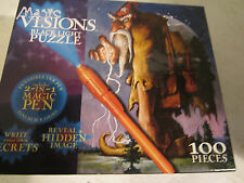 Magic Visions Black Light Puzzle 100 Pcs. New in Sealed Box