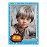 Topps - SW Living Set Card #62 - Young Anakin Skywalker Star Wars The Phantom Me
