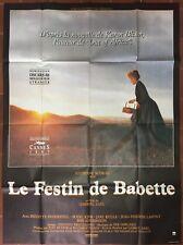 Affiche LE FESTIN DE BABETTE Gabriel Axel STEPHANE AUDRAN 120x160cm