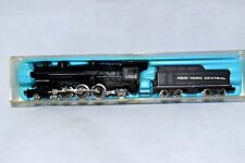 "Vintage ATLAS #2117-N STEAM ENGINE 4-6-2 No. 1523 & TENDER ""New York Central"""