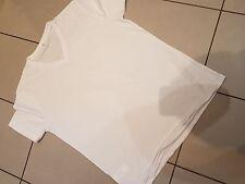Mens White  Cotton Blend T-shirt Regular Fit