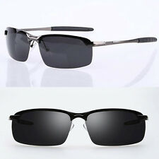 2017 Men's Polarized Sunglasses Driving Vintage Outdoor Sports Eyewear Glasses A
