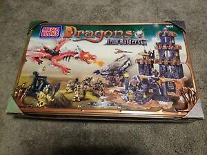 Mega Bloks Dragons Iron Raiders  Raiders Keep New Sealed 160 Pieces