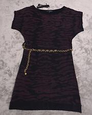 PIERRI NEW YORK DRESS  Womens Size Small S with Metal Belt  NWT NEW