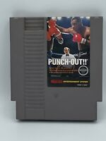 Mike Tyson's Punch-Out!! (Nintendo NES, 1987) Authentic, Cartridge Only, TESTED