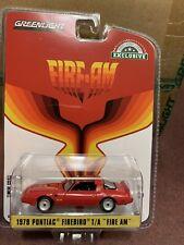 "Greenlight   Hobby Exclusive  1979 Pontiac Firebird "" Fire Am""  VSE red"