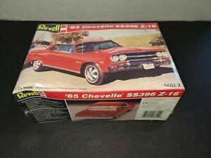 Revell 1:25 '65 Chevelle SS396 Z-16 Model Car Kit #7611 Skill 2 VTG 1996 SEALED!