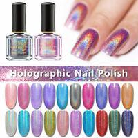 6ml BORN PRETTY Holographic Polish Glitter Sparkly Nail Varnish Shiny Black Holo