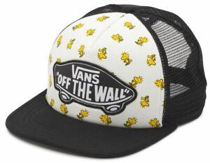Vans Off The Wall Women's X Peanuts Beach Girl Trucker Hat Cap - Woodstock