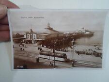Good Vintage Real Photo Postcard SOUTH PIER, BLACKPOOL H.383 Allen+Sons  §A1724