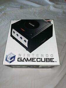 Nintendo Gamecube Black Console EMPTY BOX Reproduction