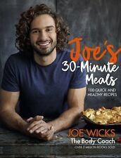Joe's 30 Minute Meals By Joe Wicks 100 Quick and Healthy Recipes Brand NEW
