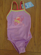 BNWT baby/toddler girl swimming costume / suit from Speedo. 18-24 months