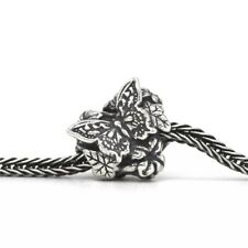 Butterfly Garden Heart 925 Sterling Silver Charm Bracelet Gift Troll Bead Leaves
