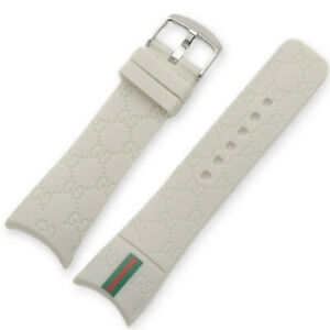 26mm Rubber Silicone Replacement Watch Band Strap For I-Gucci Digital Mens Watch