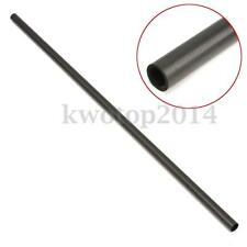 Black Carbon Fiber Tube Rods 33cm x 8mm x 6mm for RC Xcopter Quadcopter Parts