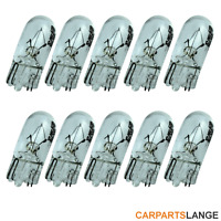 10 Stück T10 w5w 12V Glassockellampe Innenraum Beleuchtung Lese Kofferraum Lampe