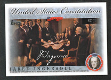 2006 Topps Series 2 US Constitution Signer Inserts #1-40 Finish Your Set, U Pick