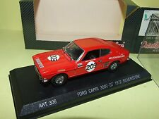 FORD CAPRI 2300 GT 1969 RALLYE TOUR DE FRANCE DETAILCARS 307 1:43