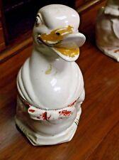 GANDER GOOSE Cookie Jar Pottery marked USA 10  Vintage 1950s